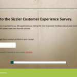 Sizzler Australia Customer Experience Survey