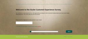 Sizzler Australia Customer Experience Survey