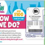 99 Cents Only Stores Customer Satisfaction Survey