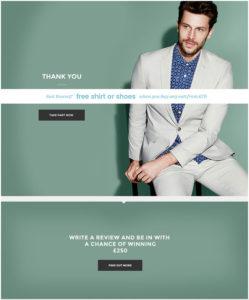 Burton Menswear Customer Satisfaction Survey