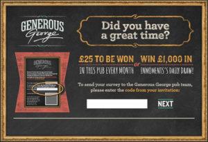 Generous George Customer Satisfaction Survey