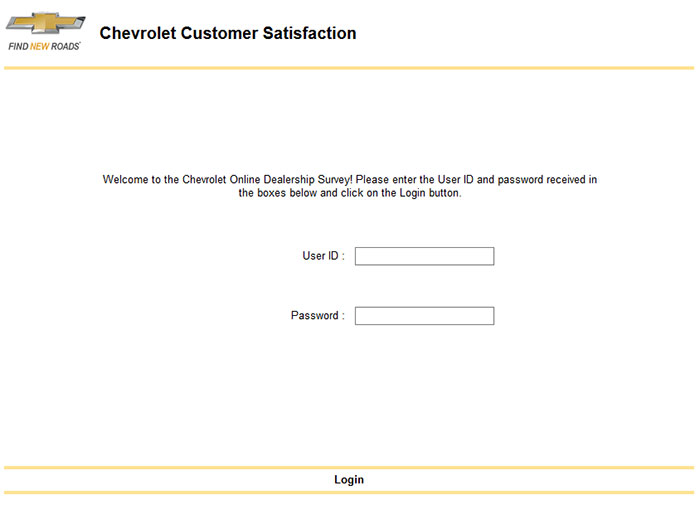 chevrolet customer satisfaction survey. Cars Review. Best American Auto & Cars Review