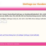 Dunkin' Donuts Germany Guest Satisfaction Survey