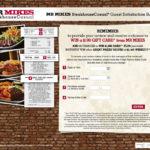 MR MIKES Guest Satisfaction Survey