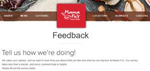 Mama Fu's Asian House Survey