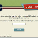 Silver Diner Guest Voice Survey