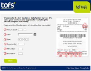 tofs Customer Satisfaction Survey