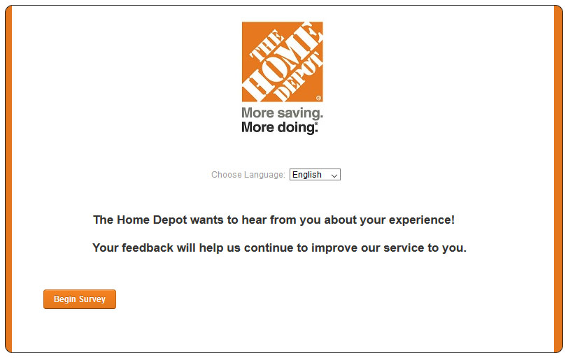 Homedepot Com Survey Home Depot Survey Win A 5 000 Gift Card 2019